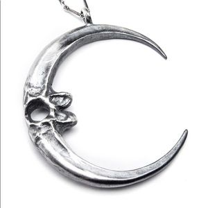 Bloodmilk Visions Eagle Talon Moon Necklace